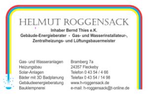 Visitenkarte Helmut Roggensack